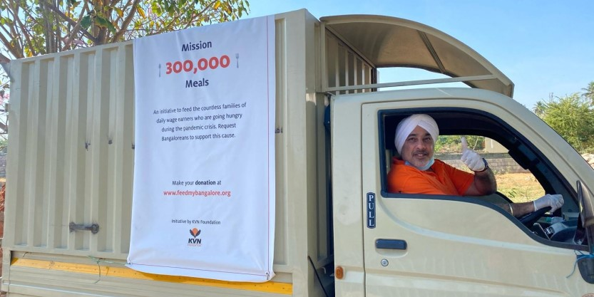 375,000 meals across five cities have been delivered