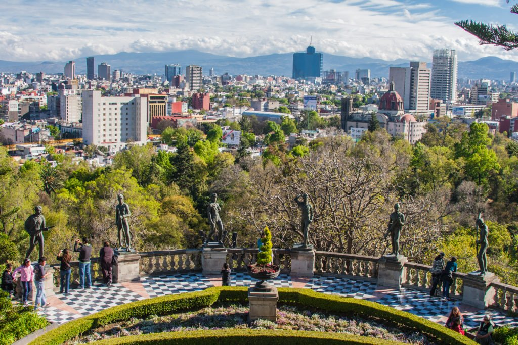Pictures taken in Mexico City; Shutterstock ID 136903553